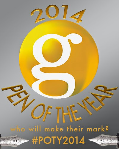 goldspot 2014 pen of the year graphic