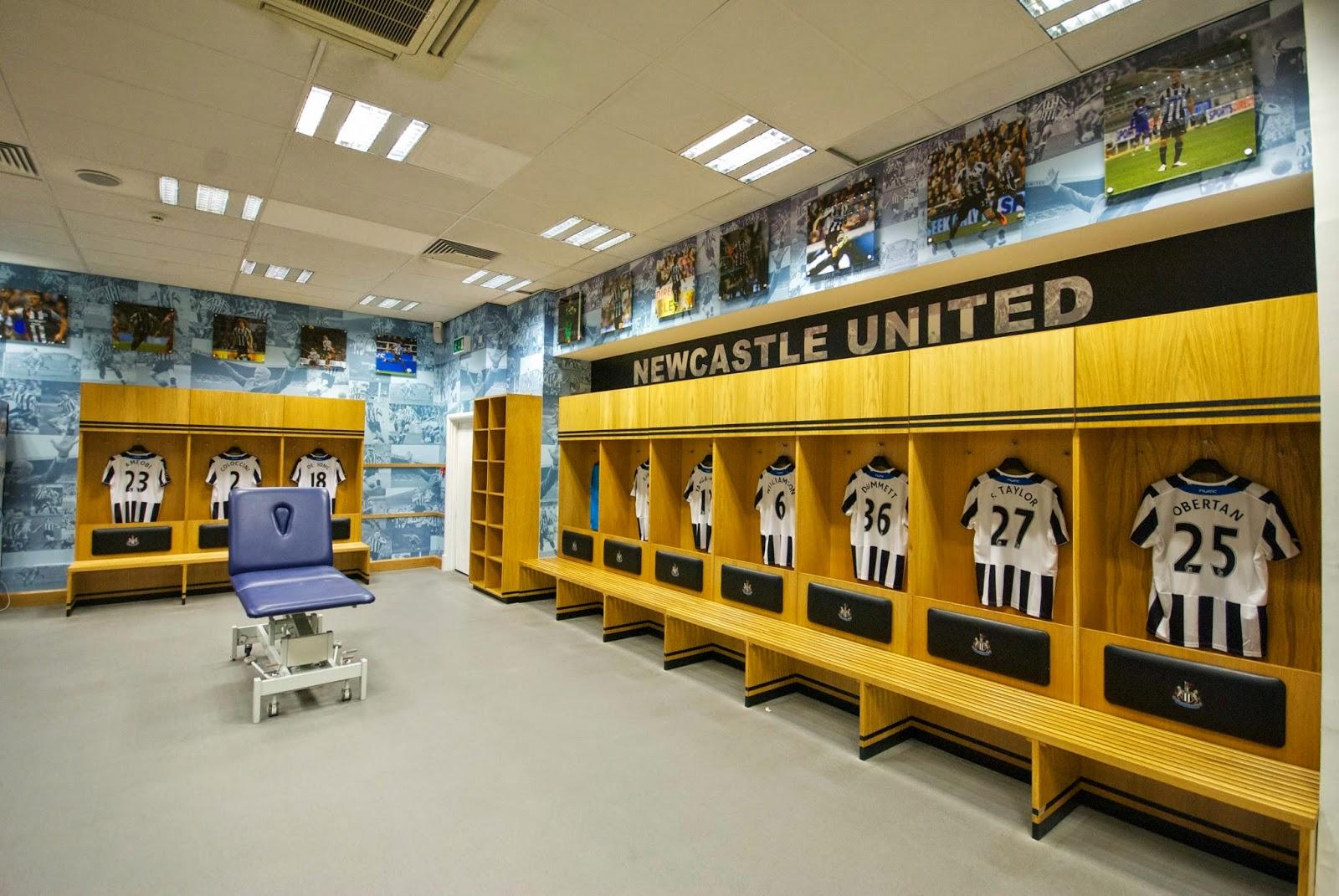 Rapids England Tour 2014: Newcastle United Stadium Tour