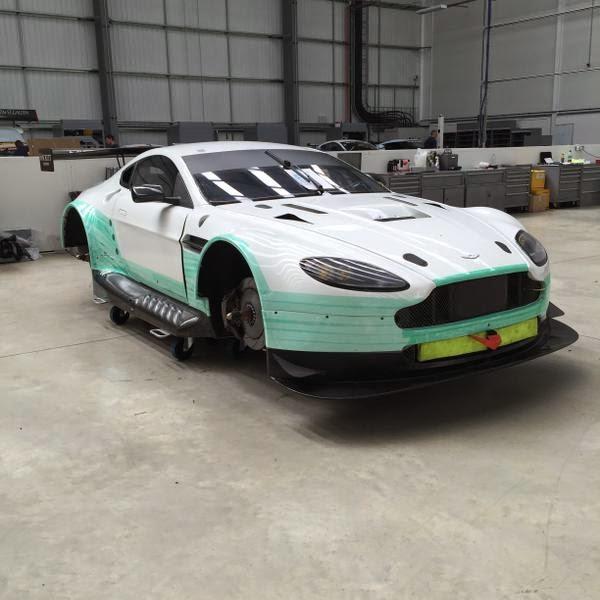 Aston Martin Racing Le Mans Festival Race Entries