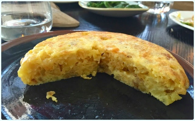 Iberica, Manchester - Omelette