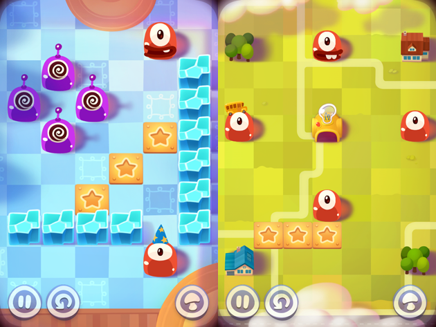 El juego de puzles Pudding Monsters
