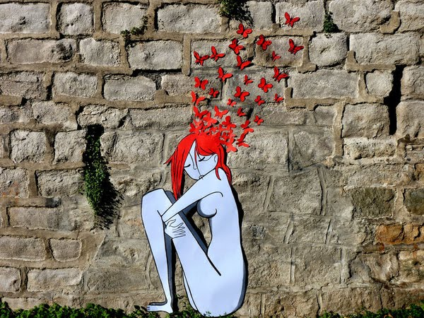 Creative Street Art by French Artist OakOak Seen On www.coolpicturegallery.us