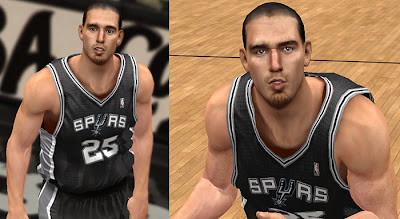 NBA 2K13 Nando De Colo Face Update NBA2K