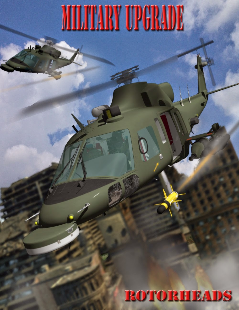 RotorHeads de mise à niveau militaire