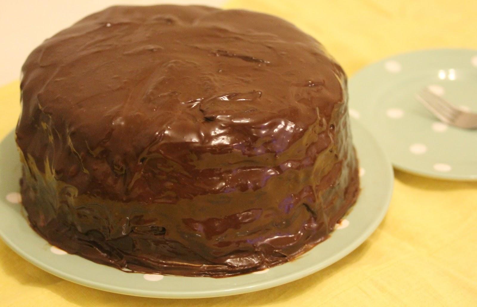 ... chocolate orange version of Ina Garten's Beatty chocolate cake