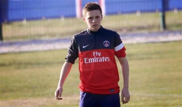 Anak David Brckham Disingkarkan Dari Arsenal