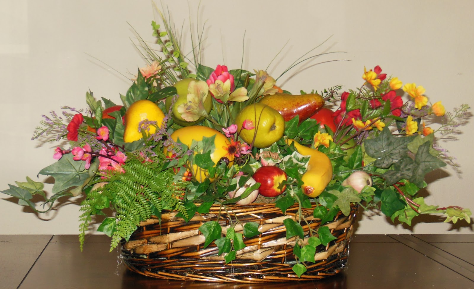 Ana silk flowers how to use fruit in artificial floral Floral arrangements with fruit