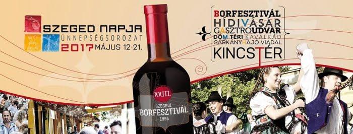 Legközelebbi vásárunk :O) Szegedi Borfesztivál és Hídivásár 2017 MÁJUS 12-21.