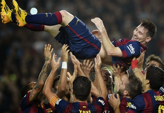 Rekor gol Messi