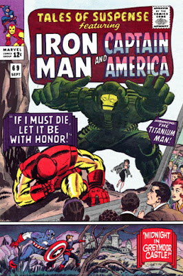 Tales of Suspense #69, Iron Man vs Titanium Man