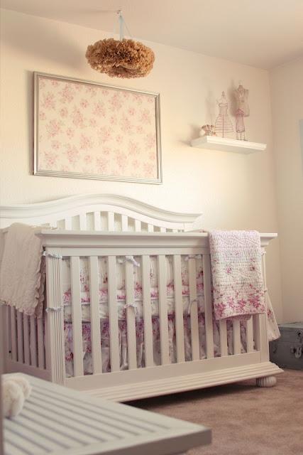madisyn 39 s shabby chic nursery simply ciani. Black Bedroom Furniture Sets. Home Design Ideas