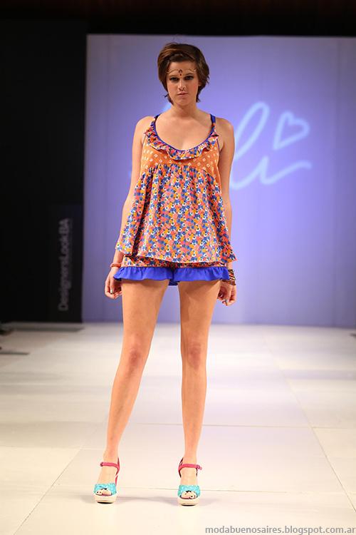 Designers Look BA primavera verano 2014. Moda primavera verano 2014.