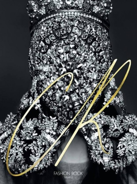 Kim Kardashian by Karl Lagerfeld for CR Fashion Book No.3
