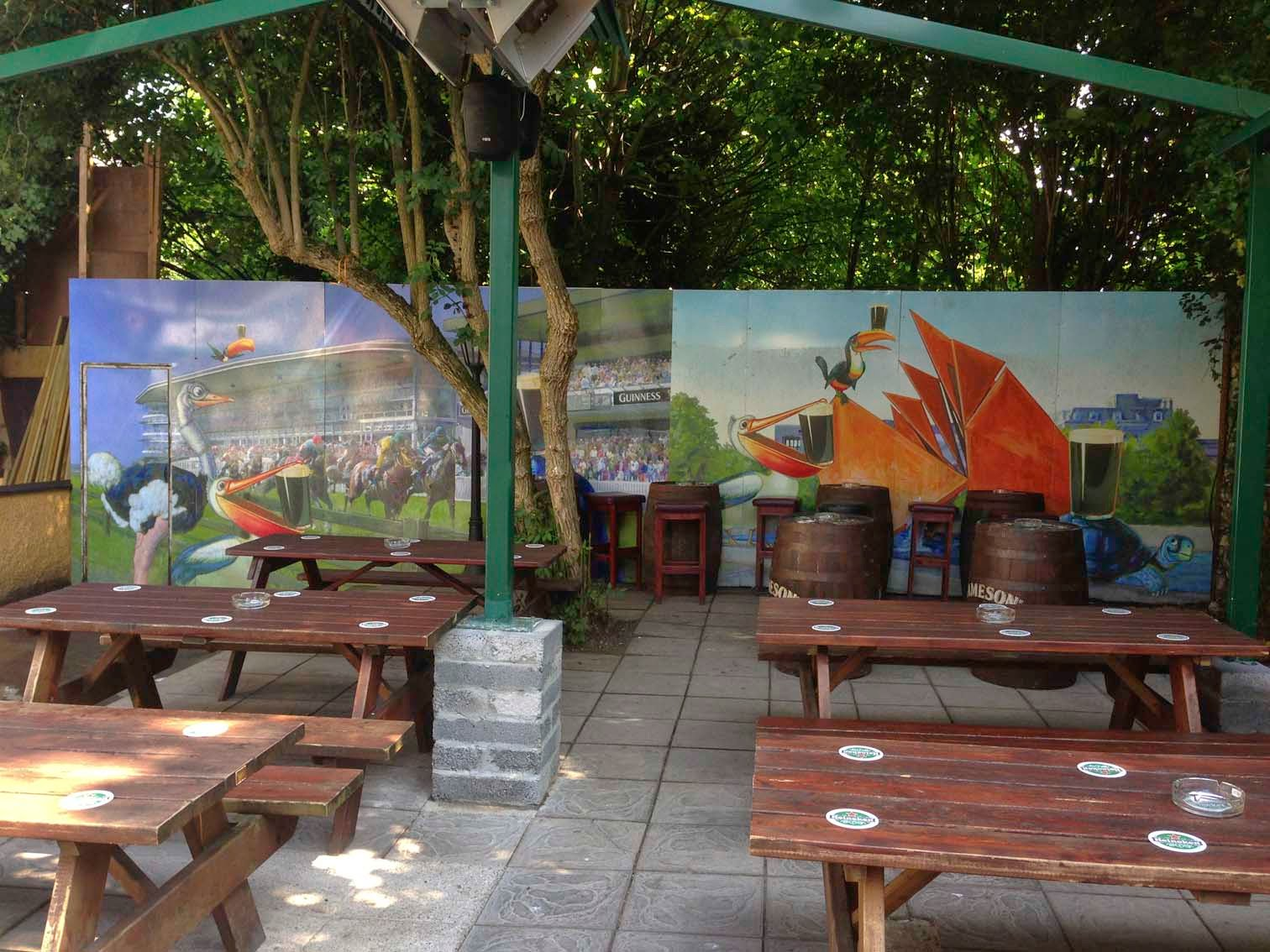 mural painting professionals featurewalls ie transforming beer