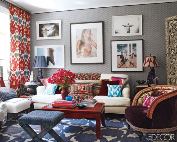 The Living Room Of So Paulobased Designer Sig Bergamin