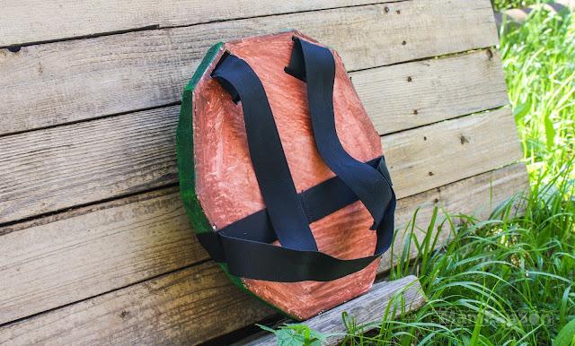 панцирь черепашки-ниндзя, вид сзади
