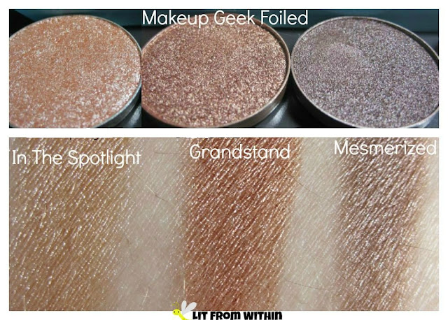 Makeup Geek In The Spotlight, Grandstand, and Mesmerized