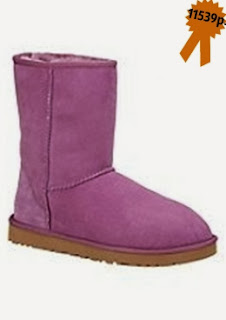 Зимняя обувь, замшевые на овчине полусапожки UGG Australia