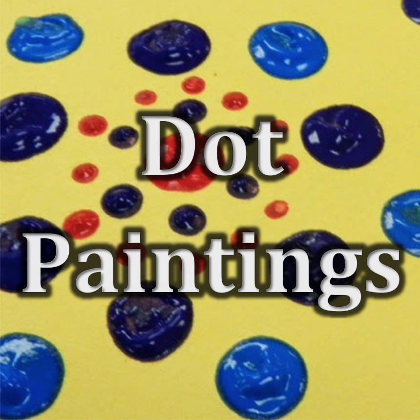 Animals in Art (8) | Dot Paintings