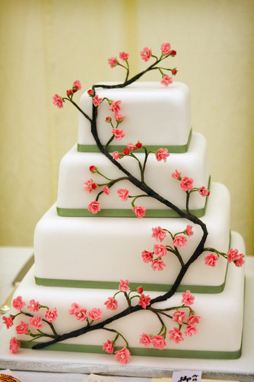 Simplicity Is The Keynote Of All True Elegance Cake