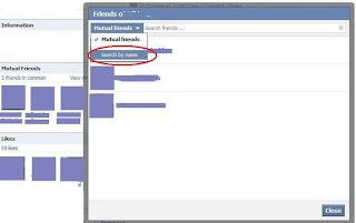 Hide Facebook Mutual Friends