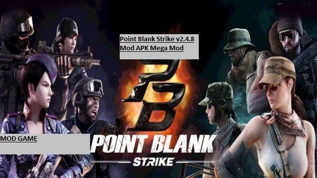 Point Blank Strike v2.4.8 Mod APK Mega Mod