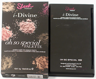 Paleta Oh So Special de Sleek