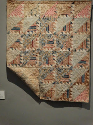 Delectable Mountains Crib Quilt 1840