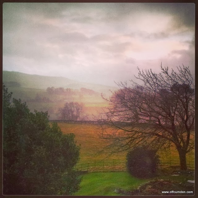 Wet and windy Yorkshire Dales
