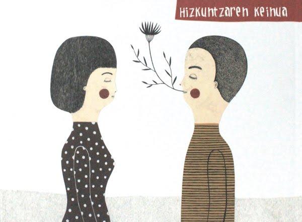 Hizkuntzaren keinua (askoren artean)