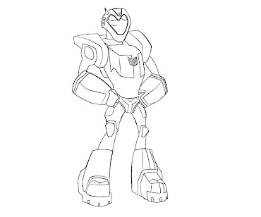 #19 Transformers Coloring Page