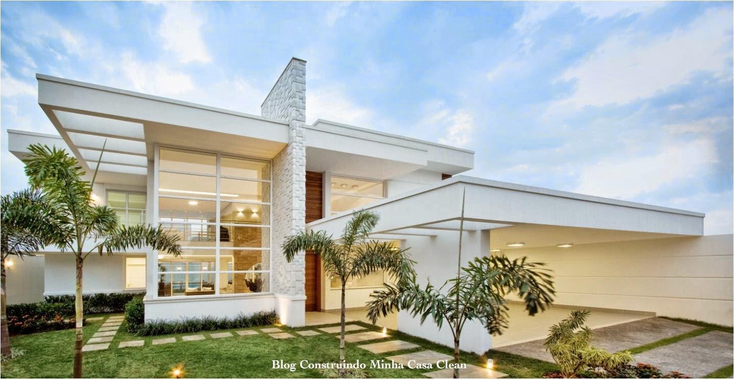 Construindo minha casa clean fachadas de casas modernas - Videos de casas modernas ...