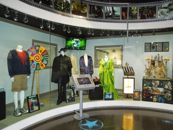 NBC Universal Experience costume prop attraction