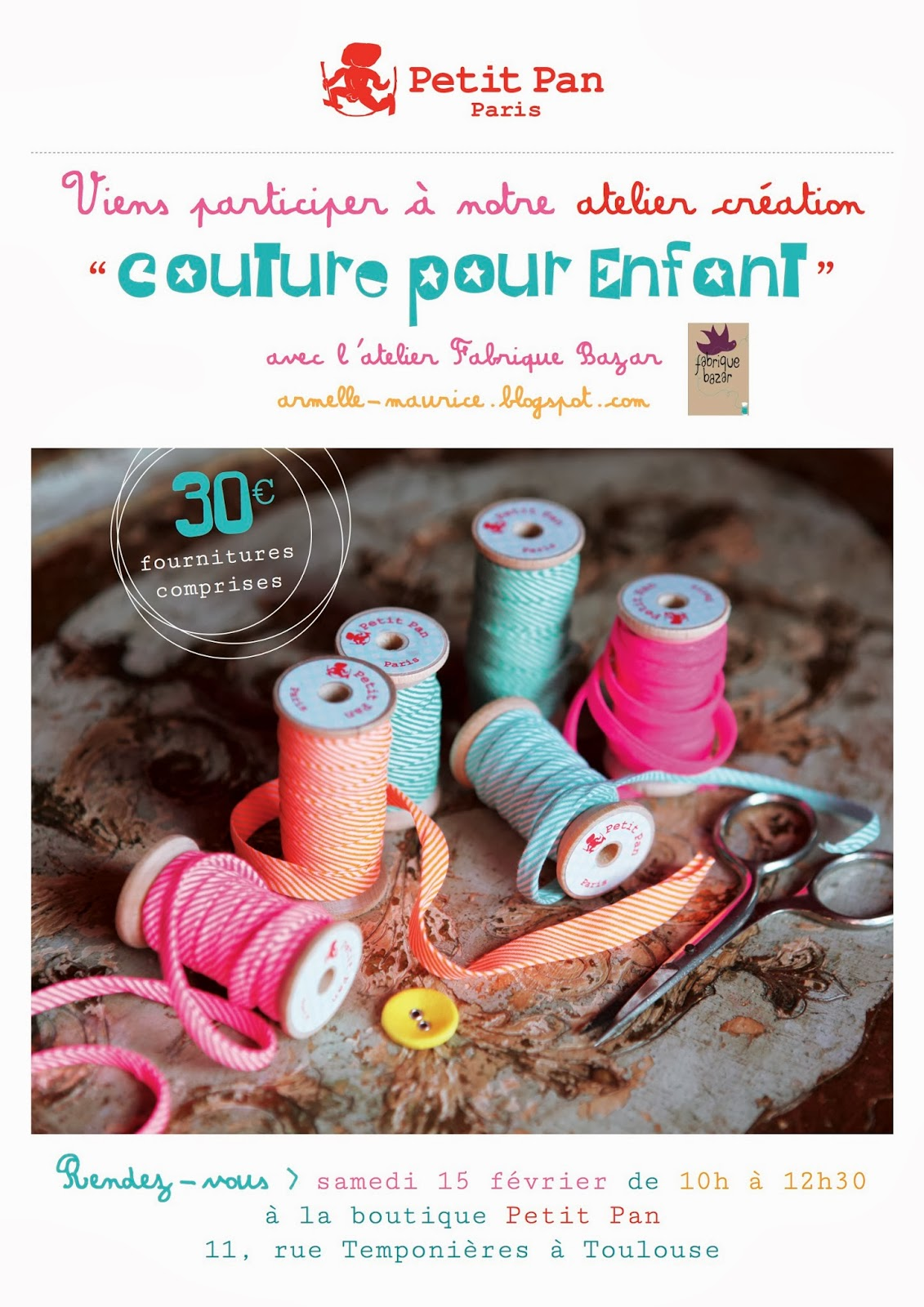 cours de couture toulouse fabrique bazar blog couture