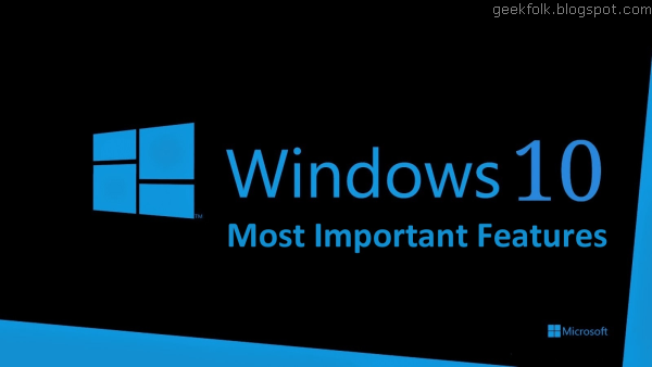 The Best New Features in Windows 10