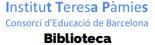 Biblioteca Institut Teresa Pàmies