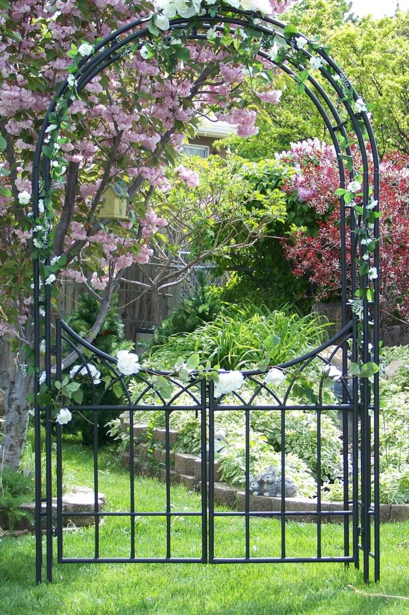 Arbor decorations arbor decal galleries for Decor et jardin
