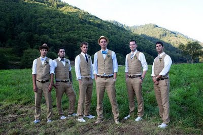 mens khaki pants and vest | Men | Pinterest | Vests, Groomsmen and ...