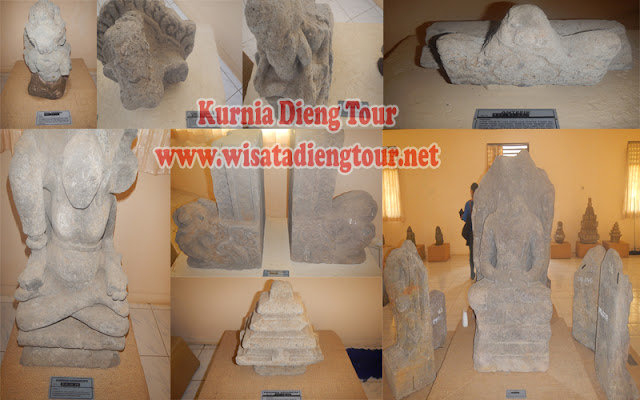 patung dalam museum kailasa dieng