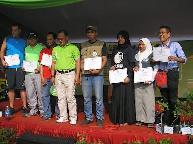 mendapatkan piagam penghargaan dari Walikota Jakarta Utara