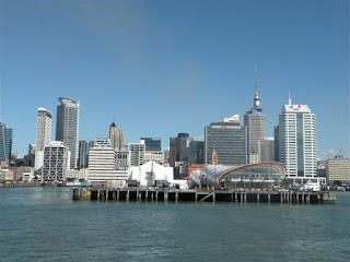 TRENZ 2013 at Auckland's Queens Wharf. Photograph by Janie Robinson, Travel Writer
