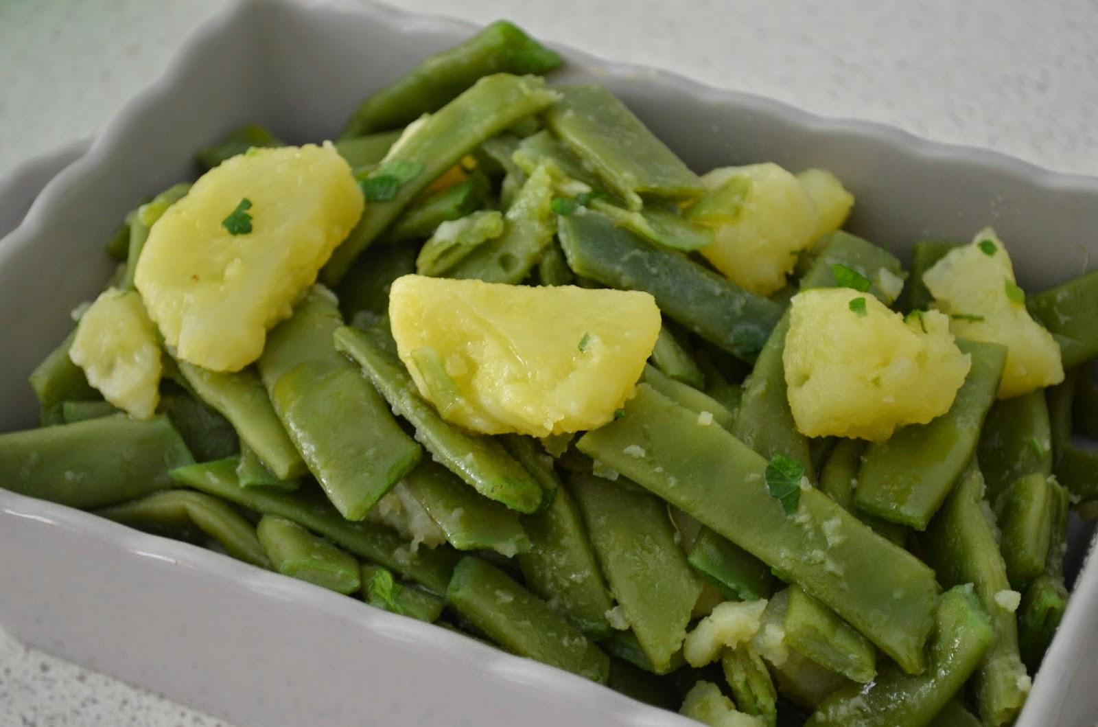 Taccole e patate in umido ricette di cotto e postato for Cucinare le taccole