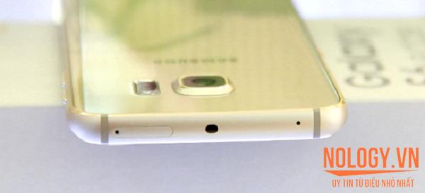 Cạnh trên Samsung galaxy S6 Edge