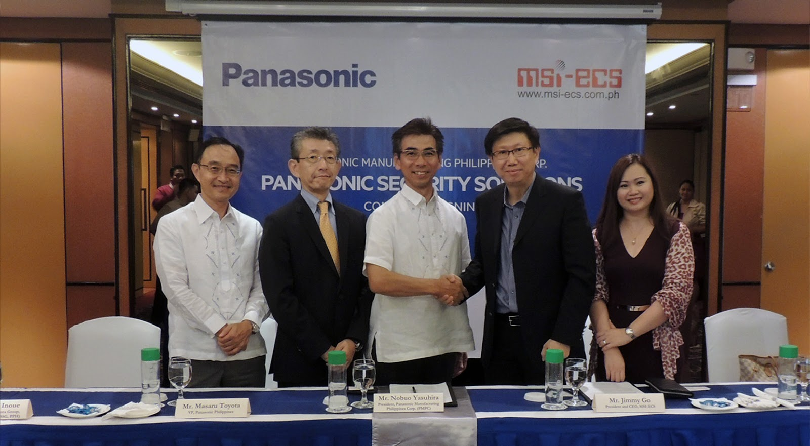 Panasonic appoints MSI-ECS as country disty for security solutions
