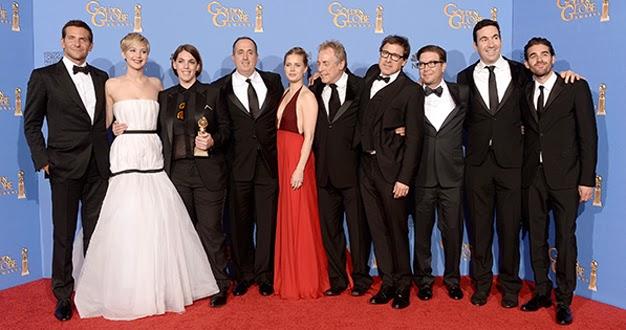 American Hustle: la gran estafa americana, ganadora del Globo de Oro 2014 a mejor comedia