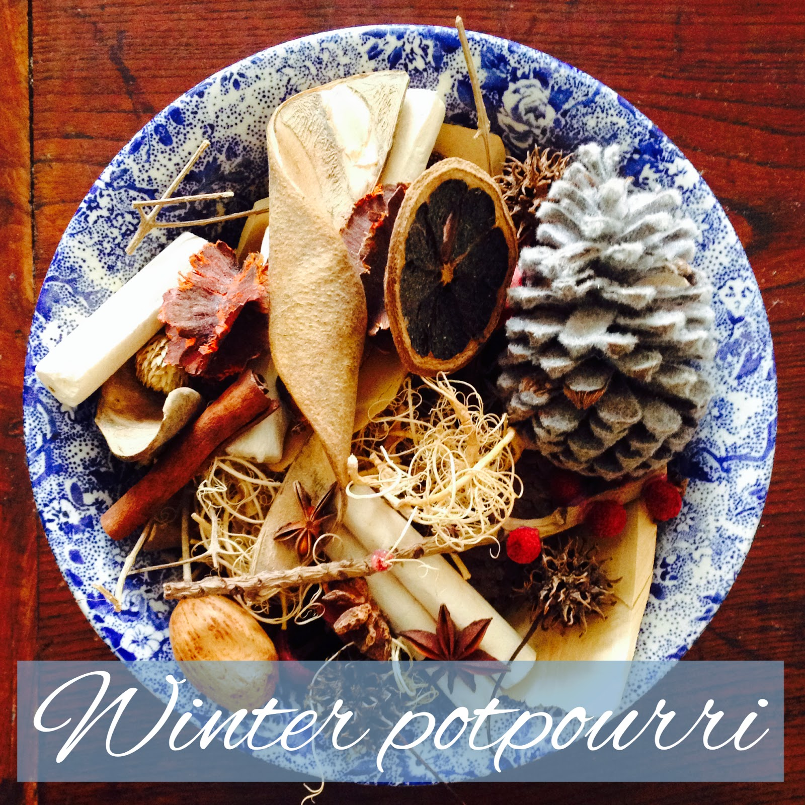 The Scents of Christmas~ Home Made Winter Potpourri Recipe.