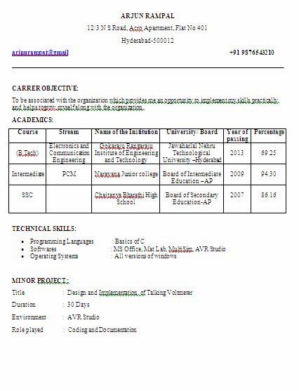Electronics and Communication Engineering(ECE) fresher ...