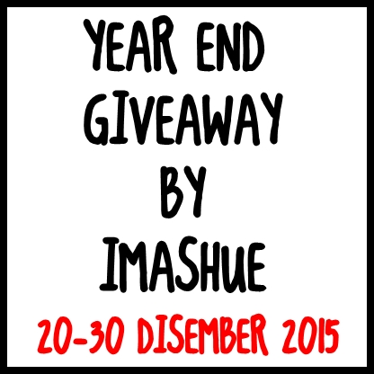 YEAR END GIVEAWAY BY IMASHUE