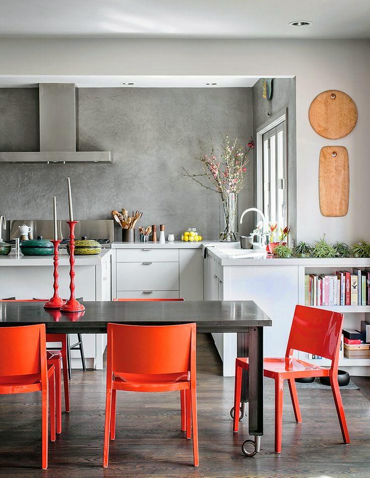 casinha colorida cozinhas com toque industrial. Black Bedroom Furniture Sets. Home Design Ideas