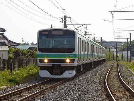 安孫子 E231系